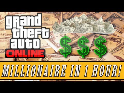 GTA 5: ONLINE   Fastest Way To Level Up + Millionaire In Minutes! (Online Tips & Tricks)