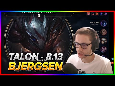 714. Bjergsen - Talon vs Swain - Mid | S8 Patch 8.13 - NA Challenger - July 9th, 2018