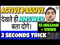 Active And Passive Voice Trick Active Voice And Passive Voice In English Grammar DSSSB RRB D mp3