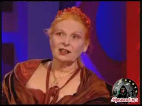 Vivienne Westwood on Friday Night with Jonathan Ross pt.1