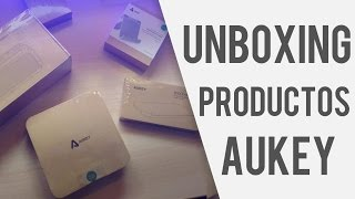 Unboxing productos Aukey | Android 2016