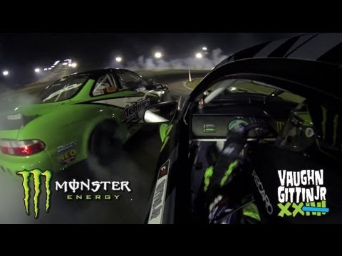 Vaughn Gittin Jr turns up the heat at Formula Drift Atlanta