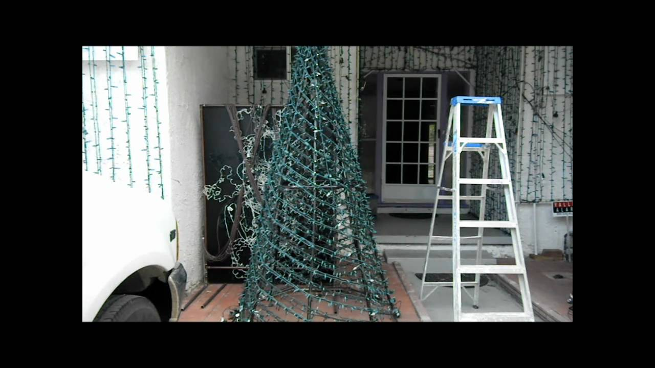 How to make a PVC Spiral Tree - YouTube