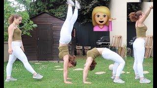 Gimnastika sa Nadjom - Stoj most