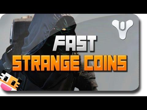 Destiny Strange Coins -