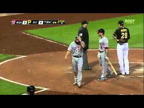 Pittsburgh Pirates vs Washington Nationals : MLB Baseball (23 May 2014)