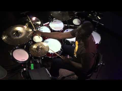 Larnell Lewis - The Groove Builder & Hybrid Drumming (FULL DRUM LESSON)