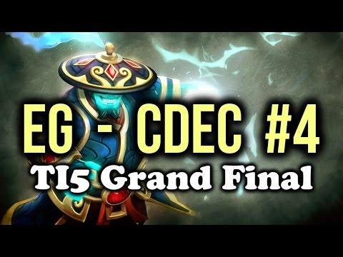 EG (Evil Geniuses) vs CDEC Dota 2 Highlights TI5/The International 5 Grand Final Game 4