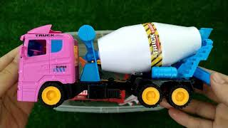 Construction for kids, Truck Learning Name and Sounds #2 Dump truck, Excavator