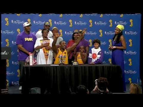Ron Artest 2010 Finals Game 7 Press Conference Video