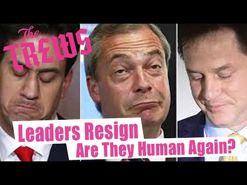 Leaders Resign - Are They Human Again? Russell Brand The Trews (E317)
