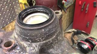 Subaru Front Wheel Bearing and Hub Replacement 1999