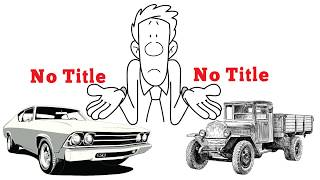 Lost Title Solutions -  Title recovery service helping people who have a car with no title.
