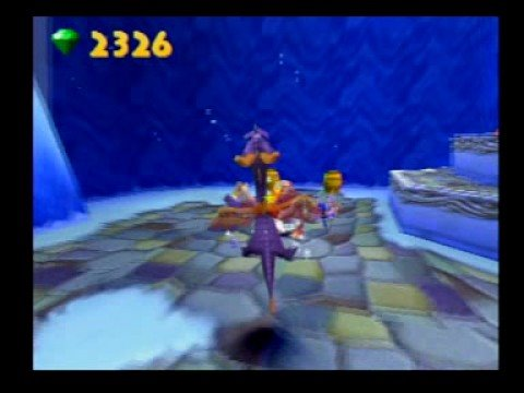 Let's Play Spyro 3 Part 21: Smurfs Turn Yellow?