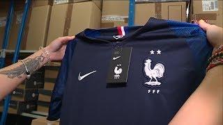 Football : le maillot 2 étoiles des Bleus est arrivé !