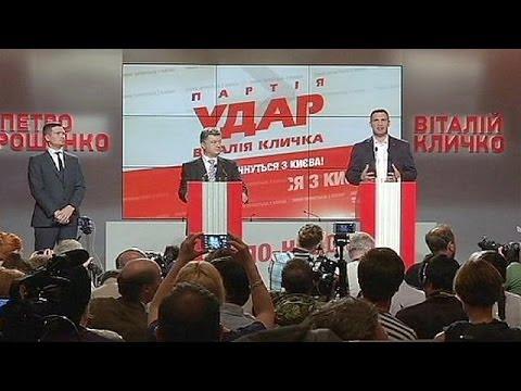 Ukrainian billionaire, Petro Poroshenko claims victory in presidential election