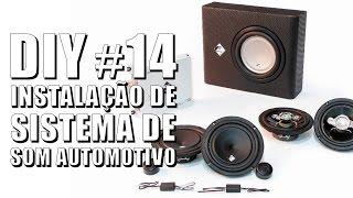 Instalação Completa de Som Automotivo - DIY #14 Auto Super