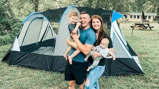 First Family Camping Trip! Tent Tour!