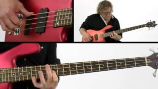 Solo Bass Guitar Lesson - #1 A Bit of Blues - Stu Hamm