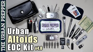 Urban Altoids EDC Kit (Version 4.0)