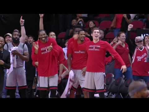 Rockets Set Single Game NBA Record with 24 3-Pointers | 12.16.16