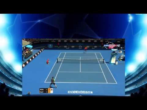 Andy Murray vs Marinko Matosevic Australia Open 2015