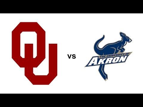 Oklahoma Highlights vs Akron - 9/05/15 (HD)