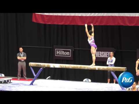 Laurie Hernandez - Balance Beam -  2016 P&G Gymnastics Championships - Podium Training