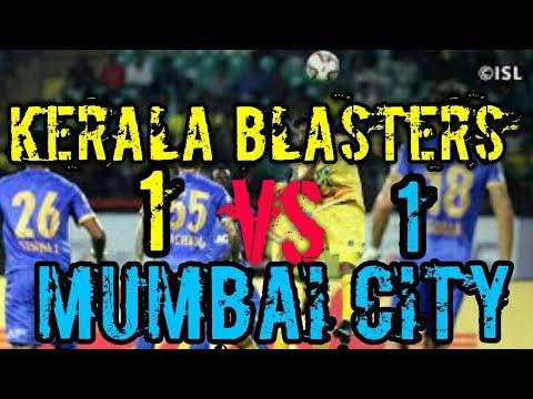 Kerala blasters vs Mumbai match