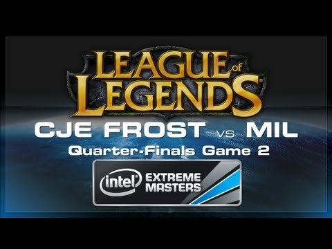 CJ Entus Frost vs Millenium Game 2 - LoL (Playoffs) - IEM World Championship 2013