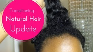 Transitioning Natural Hair Update - 8 Months Post Relaxer