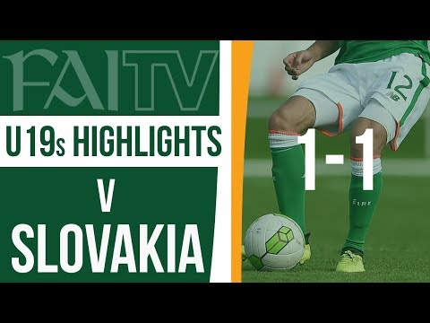 U19 HIGHLIGHTS: Slovakia 1-1 Republic of Ireland