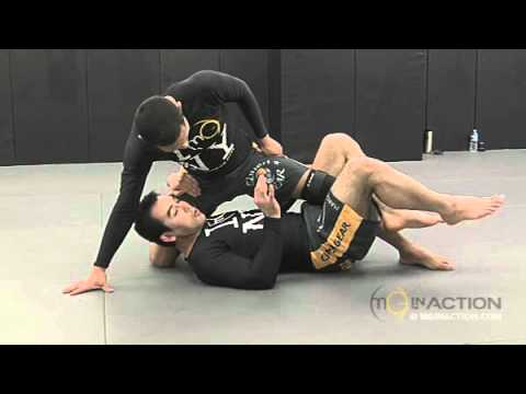 Marcelo Garcia. Shin-in Sweep from Half Guard, Guillotine from Butterfly