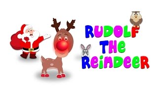 Rudolph The Red Nosed Reindeer | Christmas Song For Tiny Tots With Tim & Tia