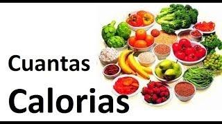 Lista de alimentos de calorias negativas hd viyoutube - Calcular calorias de los alimentos ...