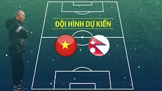 Cập nhật kết quả bóng đá hiệp 1 Olympic Việt Nam vs Olympic Nepal