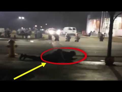 Two Police Officers Shot Ferguson Dept - Looting Protests | Mike Brown St. Louis Cops [RAW VIDEO]