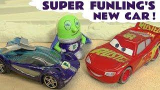 Hot Wheels New Car as Marvel Avengers 4 Endgame Hulk Rescue from DC Comics The Joker