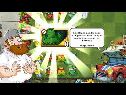 Plants Vs Zombies 2 Arma-Menta Aparece Por Primera Vez
