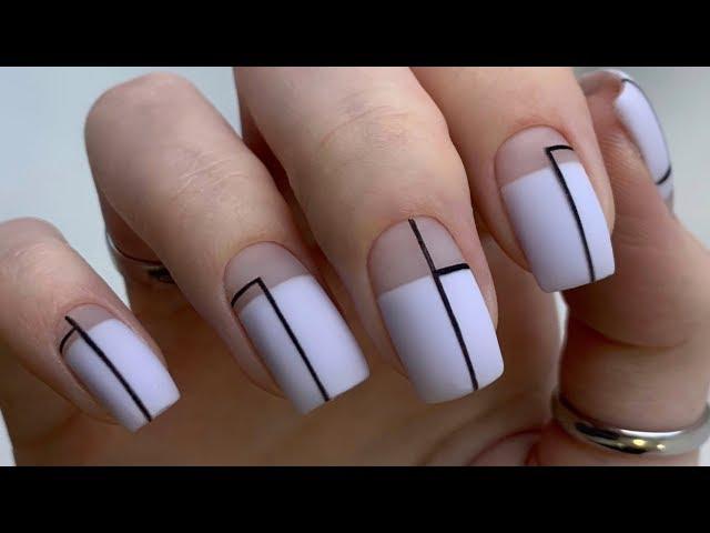 МАНИКЮР с РЕМУВЕРОМ. ЧИСТЫЙ маникюр на клиенте. Стильный дизайн ногтей.