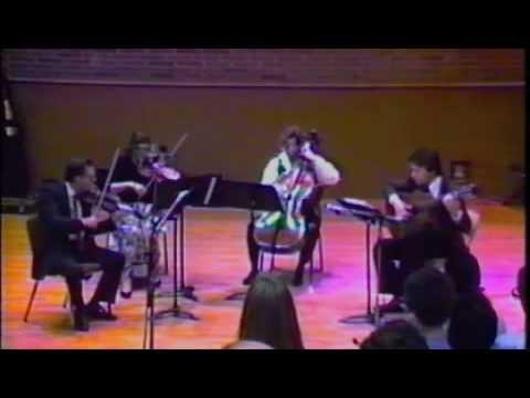 Robert Wetzel&Grossmont String Trio - Francois de Fossa - Quartet No. 3 - IV. Minuet Trio