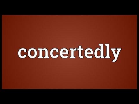 Header of concertedly