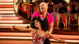 Jake Wood & Janette Manrara Samba to