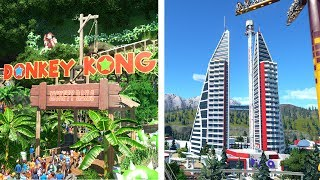 Planet Coaster Creations : 2 Incredible Builds!