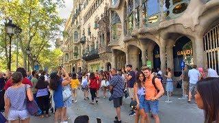 Walking Barcelona's Passeig de Gràcia and Rambla de Catalunya