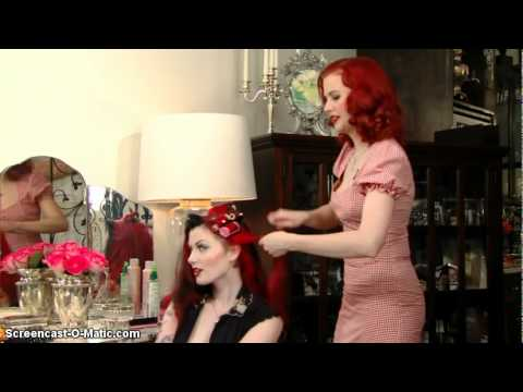 Pin Up Hairstyles (pt. 1 of 3)