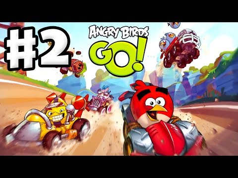 Angry Birds Go! Gameplay Walkthrough Part 2 - Kart Leveled Up! Seedway (ios, Android) video