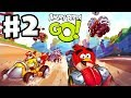 Angry Birds Go! Gameplay Walkthrough Part 2 - Kart Leveled Up! Seedway (iOS, Android)