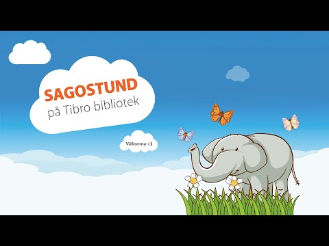 Sagostund, avsnitt 2 - Hur elefanten fick sin snabel