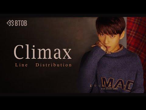 BTOB - CLIMAX Line Distribution